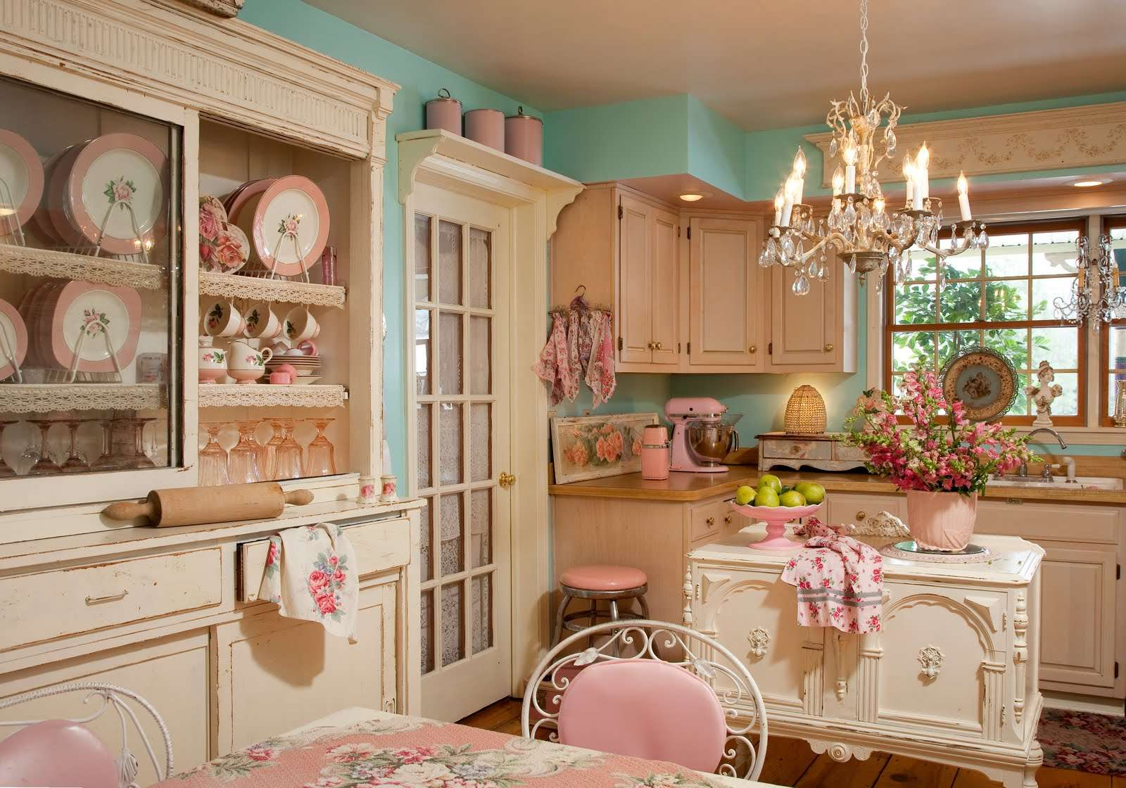 Design Featuring Variety Shabby Chic Country Kitchen Designs