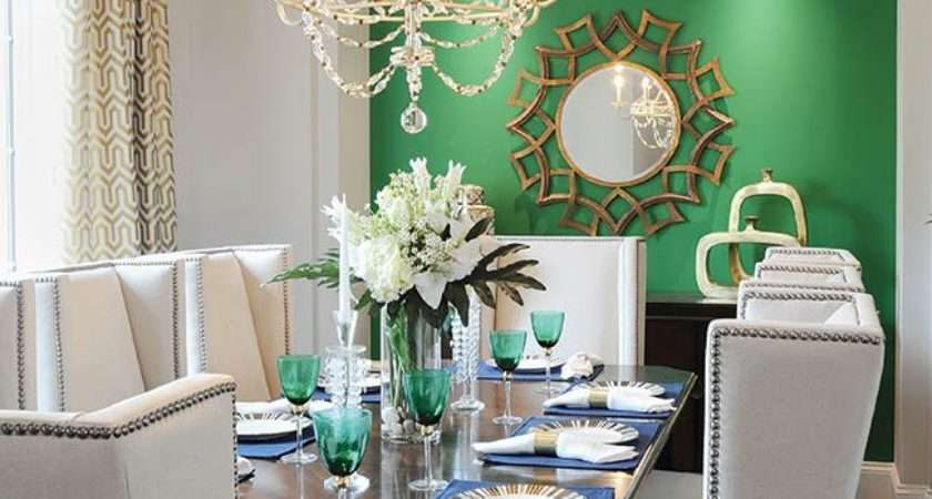 Design Trends Green Accent Walls Accents Wall