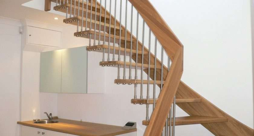 Designer Wooden Staircase Stanmore Middlesex Timber Stair