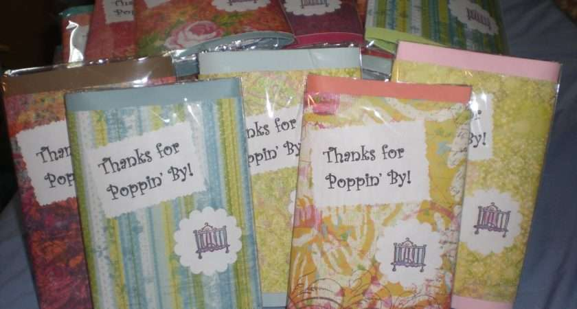 Designs Crafty Nature Baby Shower Thank Gifts