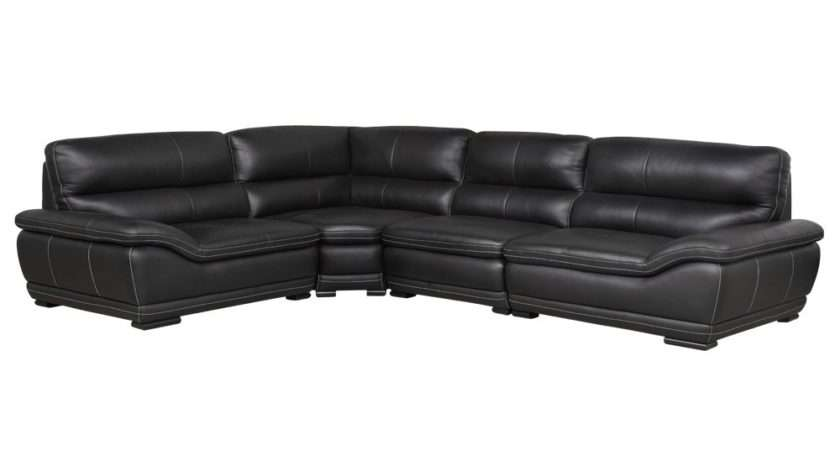 Dessi Modular Corner Leather Sofa Luxury Delux Deco