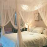 Details Corner Post Bed Canopy Mosquito Queen King