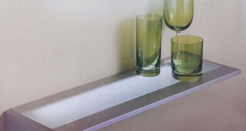 Details Wickes Cairns Illuminated Floating Glass Shelf Light