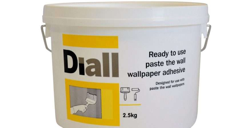 Diall Paste Wall Ready Adhesive