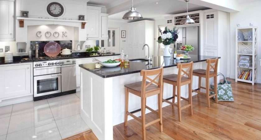 Different Types Kitchen Flooring Wood Floors