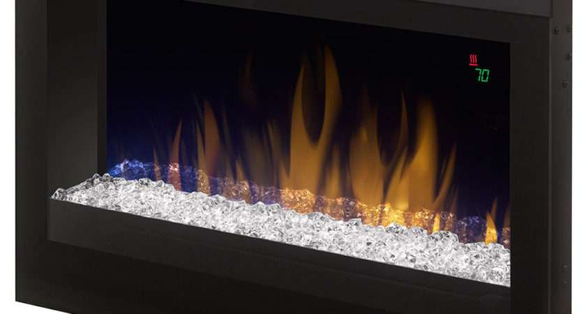 Dimplex Contemporary Electric Fireplace Insert