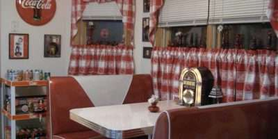 Diner Decor Bing Camper Pinterest