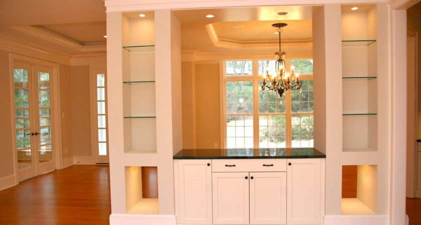 Dining Room Cabinet Designs Home Buffet Build Built