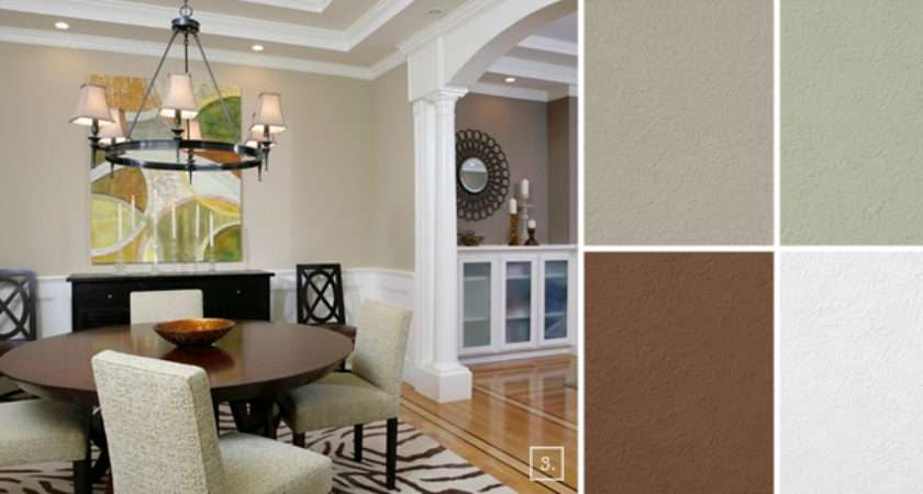 Dining Room Color Schemes