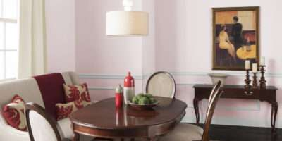 Dining Room Heirloom Pink Rooms Color