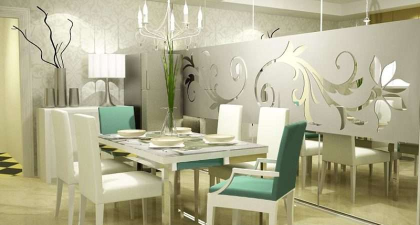 Dining Room Ideas White Themed