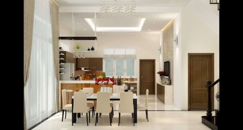 Dining Room Interior Design Youtube