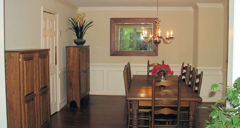 Dining Room Table Ladderback Chairs Jelly Cabinets