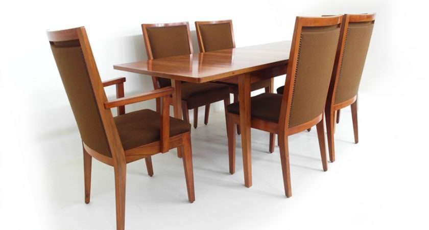 Dining Table Chairs Walnut