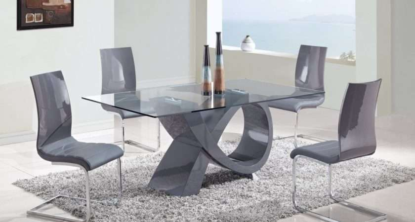 Dining Table Interior House Glass Chairs