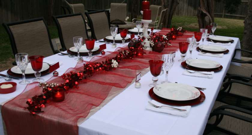 Dinner Party Beyond Decorations