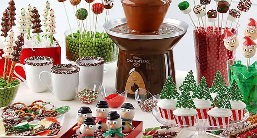 Dip Drizzle Christmas Treat Ideas Party City