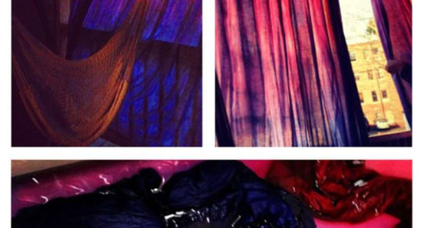 Dip Dye Ombr Curtains