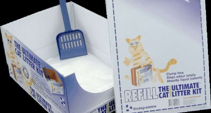 Disposable Litter Kit Single Cat Trays