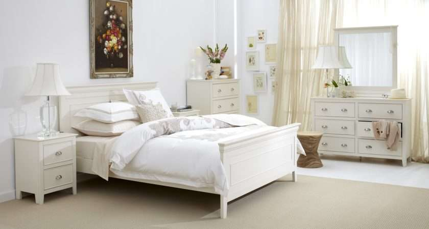 Distressed White Bedroom Furniture Raya