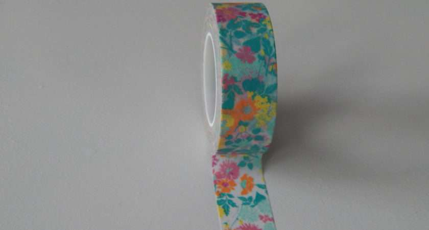 Ditsy Floral Washi Tape Seller Flat Rate Florrieandboo