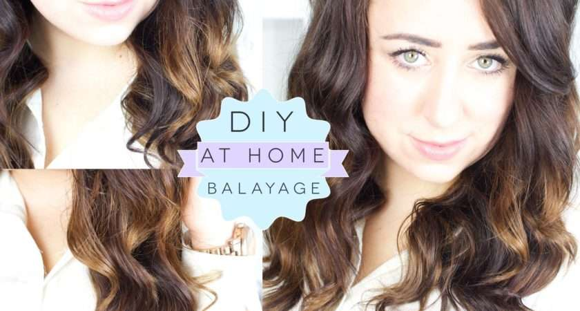 Diy Balayage Home Ombre Dip Dye Technique Gemsmaquillage