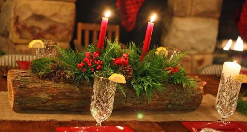 Diy Christmas Candle Centerpieces Decorating Ideas Using Natural