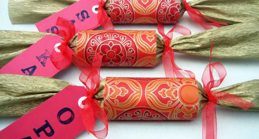 Diy Christmas Crackers One Equals Two