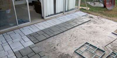 Diy Cool Creative Patio Flooring Ideas Garden Glove