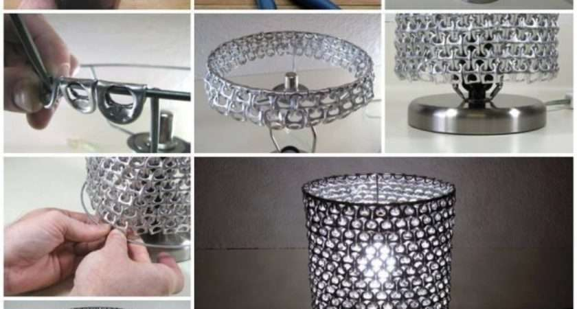 Diy Craft Project Pop Can Tabs Lamp Find Fun Art Projects