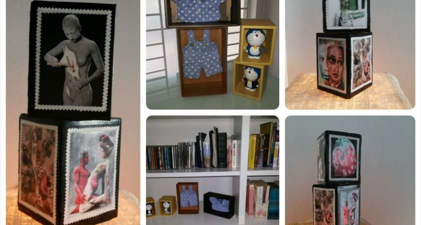 Diy Home Decoration Recycle Old Unused Boxes Into
