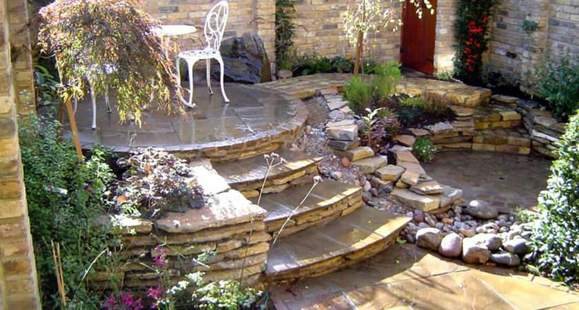 Diy Landscaping Ideas Patio Rock