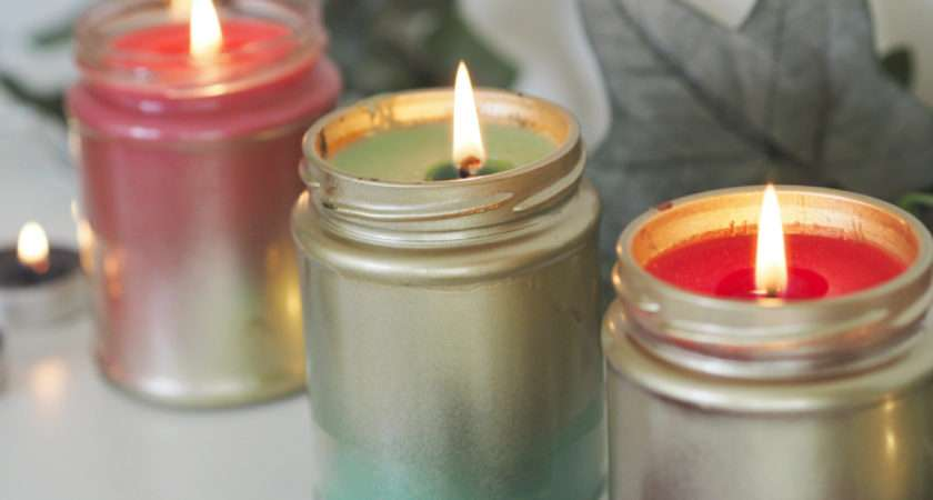 Diy Make Your Own Festive Candles Made Style