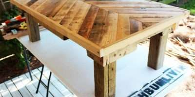 Diy Pallet Wood Coffee Table Ellis Benus Web Design Columbia