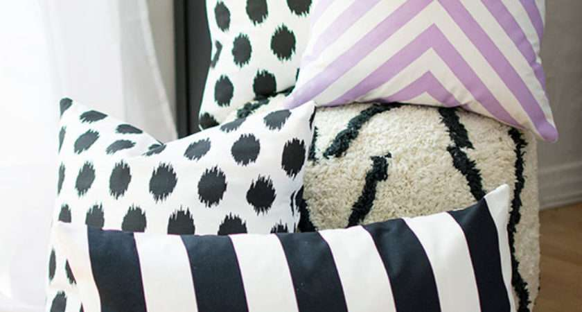 Diy Sew Pillow Covers Homey