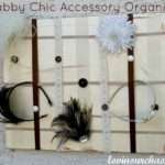 Diy Shabby Chic Accessory Holder Lovin Our Chaos