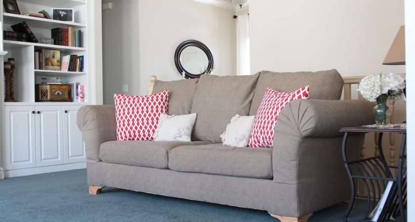 Diy Strip Fabric Couch Reupholster