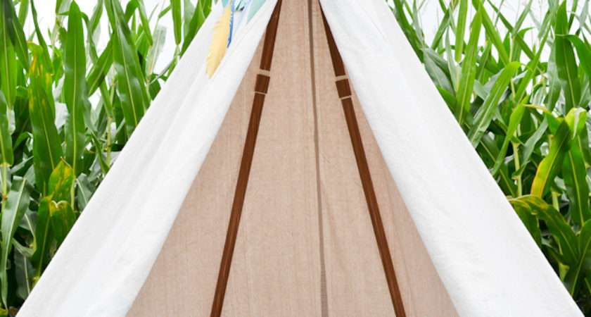 Diy Teepees Play Tents Your Kids Spend All