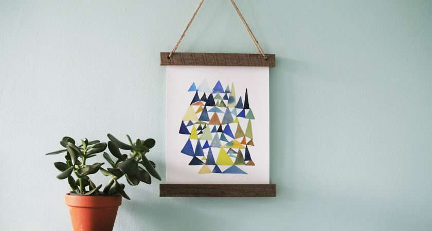 Diy Wall Hanging Frames Your Self
