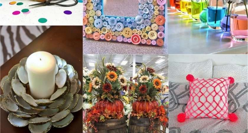 Diy Weekend Crafts Ideas Decorate Your Home Dearlinks