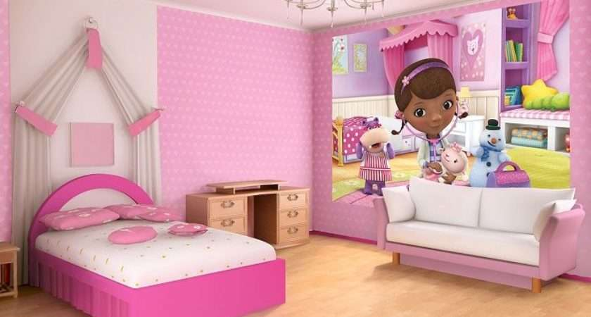 Doc Mcstuffins Kids Cartoon Wall Bedroom Murals