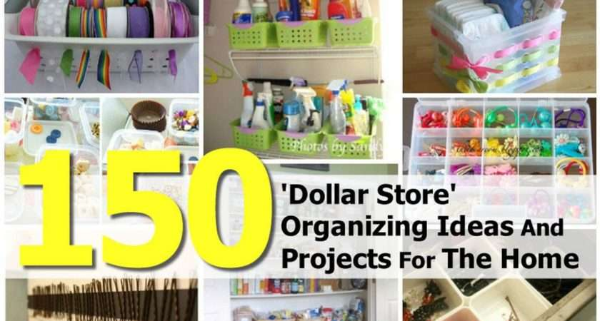 Dollar Store Organizing Ideas Projects Home
