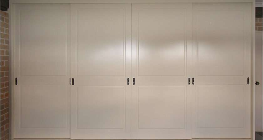 Doors Sliding Wardrobe Timber Built
