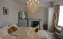 Double Bedroom White Painted Floorboards Location Partnership