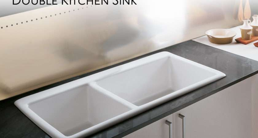 Double Kitchen Sink Save Sinks Allow Deep