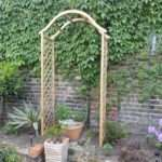 Doyounoah Decorate Your Garden Wooden Arch
