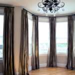 Draperies Bay Windows Design Decoration