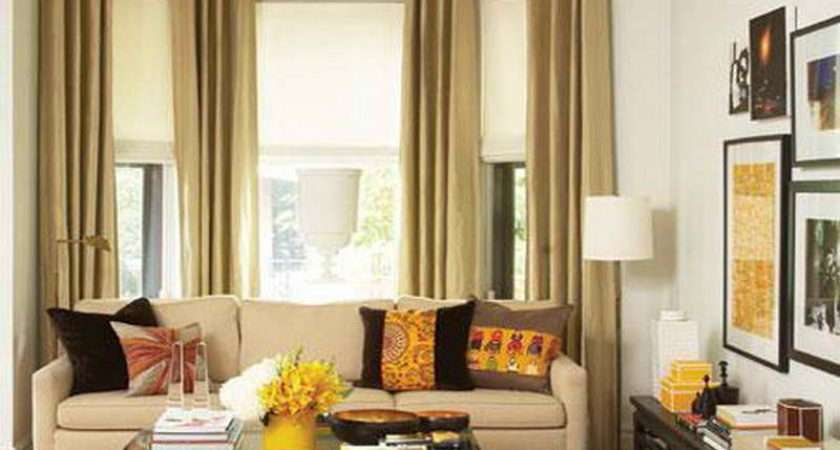 Drapes Living Room Modern Decorating Ideas Window