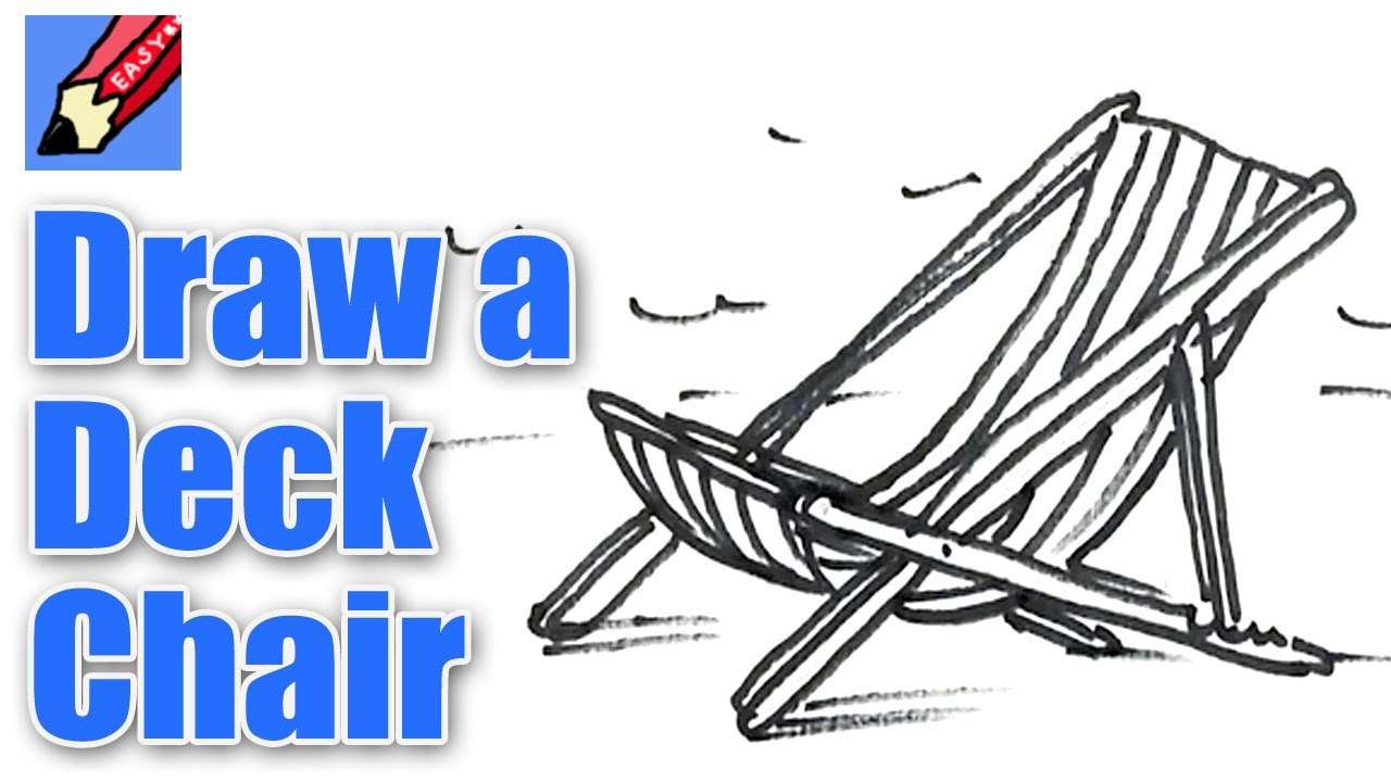 Draw Deck Chair Real Easy Spoken Tutorial Youtube