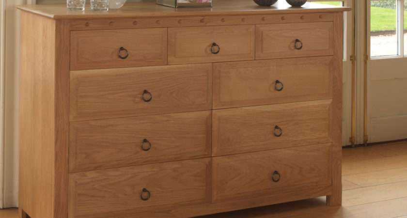 Drawer Chest Drawers Solid Wood Revival Beds